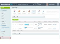 invoices creation in crm